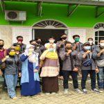 Mahasiswa Teknik Sipil Universitas Teknokrat PkM Bersihkan Masjid dan Madrasah