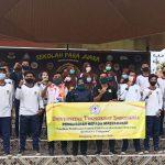 Pendidikan Olahraga UTI mengadakan Pembinaan Kondisi Fisik pada Siswa Ekstrakurikuler Olahraga di SMAN 1 Pringsewu