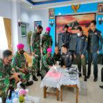 Tingkatkan Pengetahuan Prajurit Bidang IT, Brigif 4 Mar/BS Undang Dosen Universitas Teknokrat Indonesia