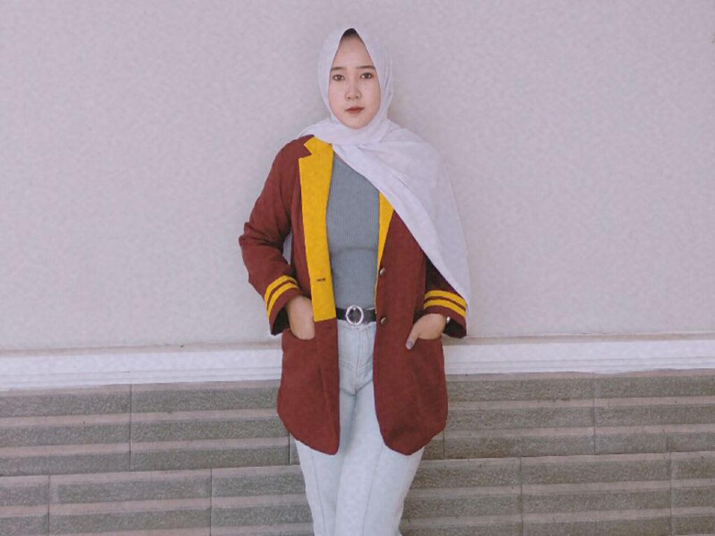 Universitas Terbaik di Lampung, Model Ellsa Mahasiswi Teknokrat Belajar untuk Makin Profesional
