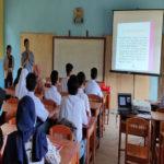Universitas Terbaik di Lampung, Dosen dan Mahasiswa Sastra Inggris Teknokrat berikan Pelatihan English for Tourism di SMK PGRI 1 Limau