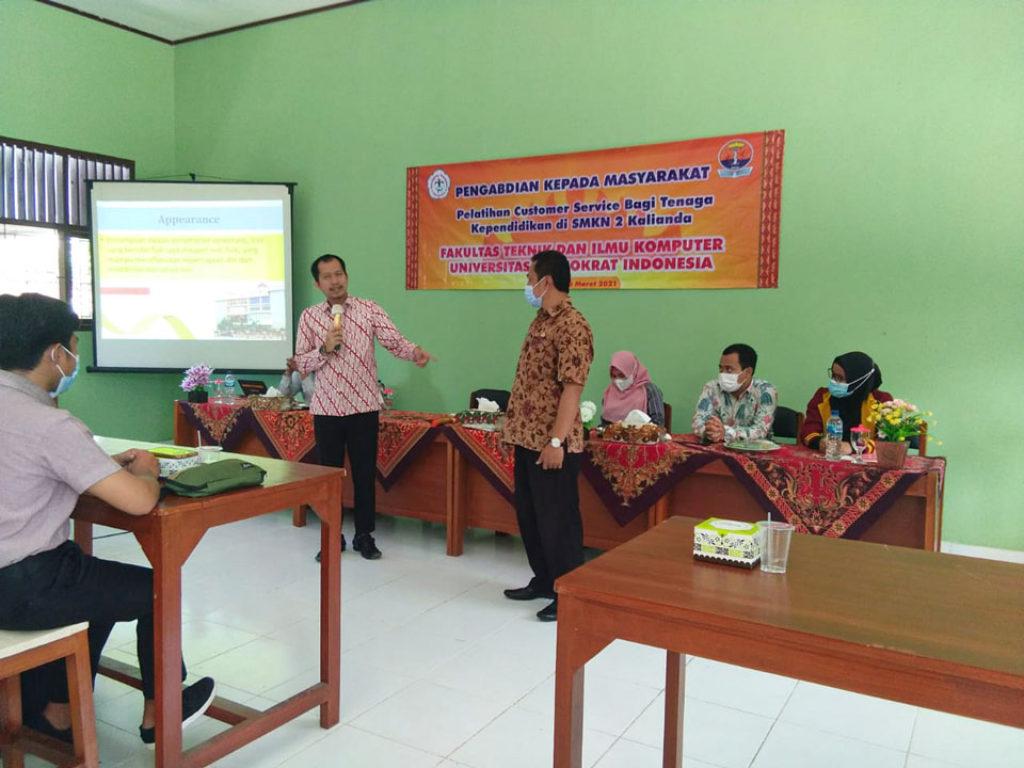 Universitas Terbaik di Lampung, PKM Teknokrat Lakukan Sekolah Binaan di SMK Negeri 2 Kalianda