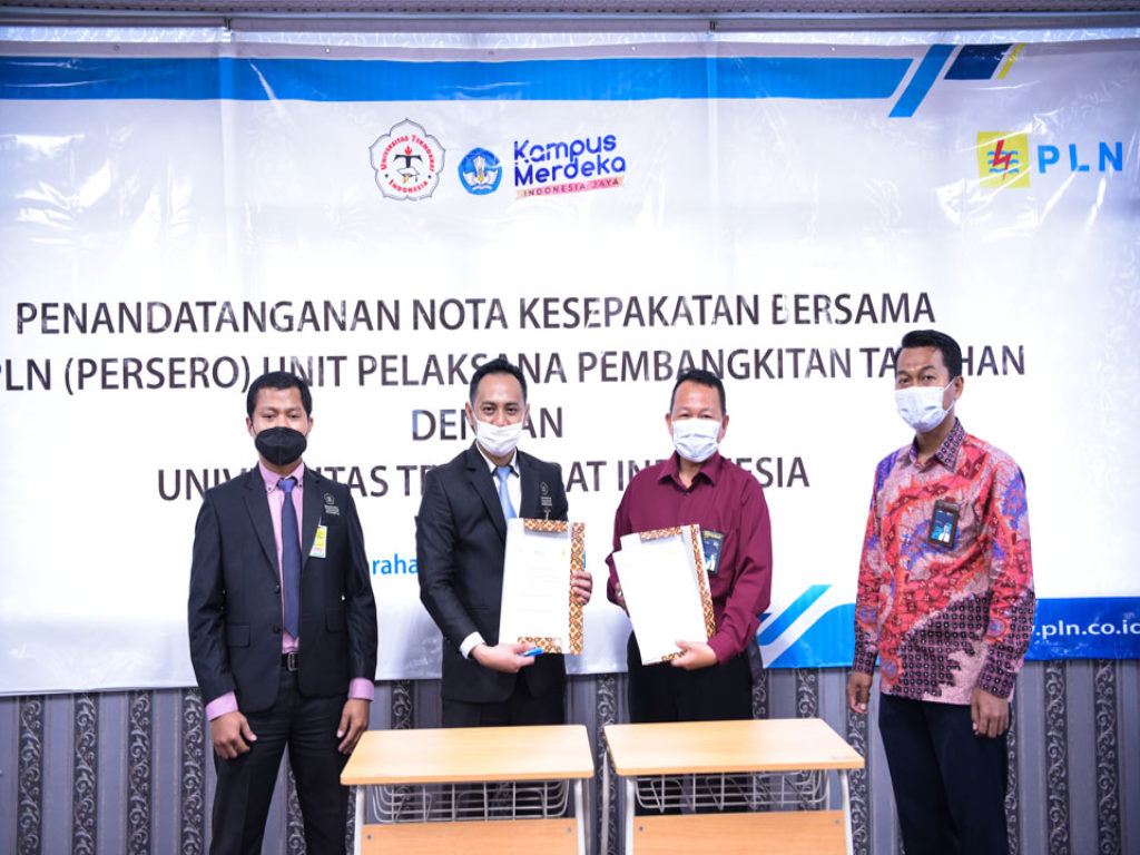 Universitas Teknokrat Indonesia Gelar Kerja Sama Program Kampus Merdeka dengan PLN UPK Tarahan