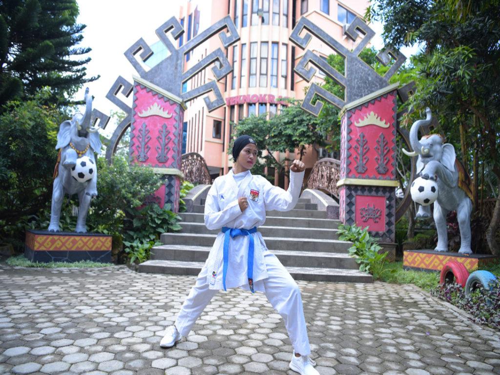 Universitas Terbaik di Lampung, Mahasiswa Teknokrat Wakili Indonesia di Berbagai Pertandingan Karate Nasional-Internasional