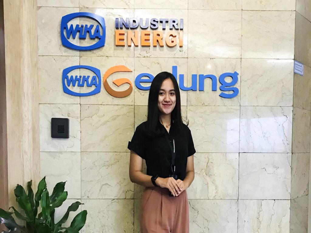 Universitas Terbaik di Lampung, Putri Diana Eks DutaTeknokrat Berkarier di PT WIKA Industri Energi