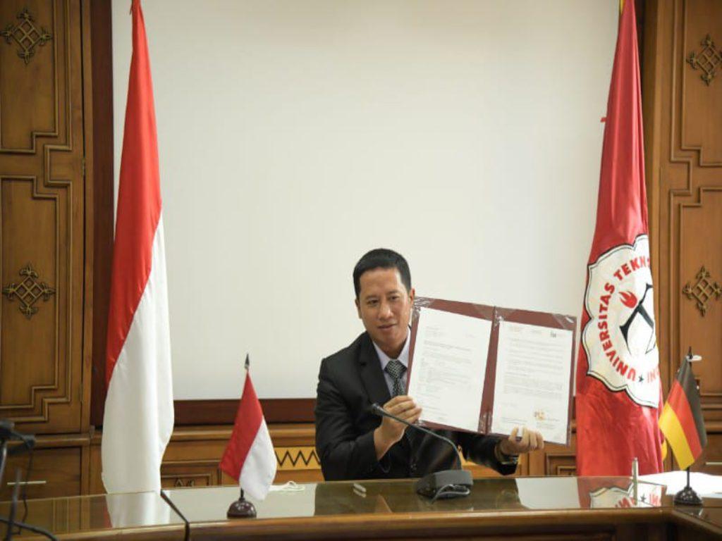 Universitas Terbaik di Lampung, Teknokrat Teken MoU dengan International University of Applied Science Berlin