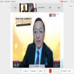 Dekan Fakultas Sastra dan Ilmu Pendidikan Universitas Teknokrat Indonesia Dosen Tamu Webinar Internasional