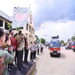 Universitas Terbaik di Lampung, Teknokrat Distribusikan 1.500 Paket Sembako ke Polda Lampung