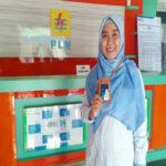 Dita Ambarini Alumni Universitas Terbaik di Lampung Teknokrat Bekerja dan Jadi Andalan di PT. PLN Persero