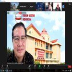 Rektor Universitas Terbaik di Lampung Teknokrat Nasrullah Yusuf Paparkan Urgensi Literasi pada Webinar Nasional