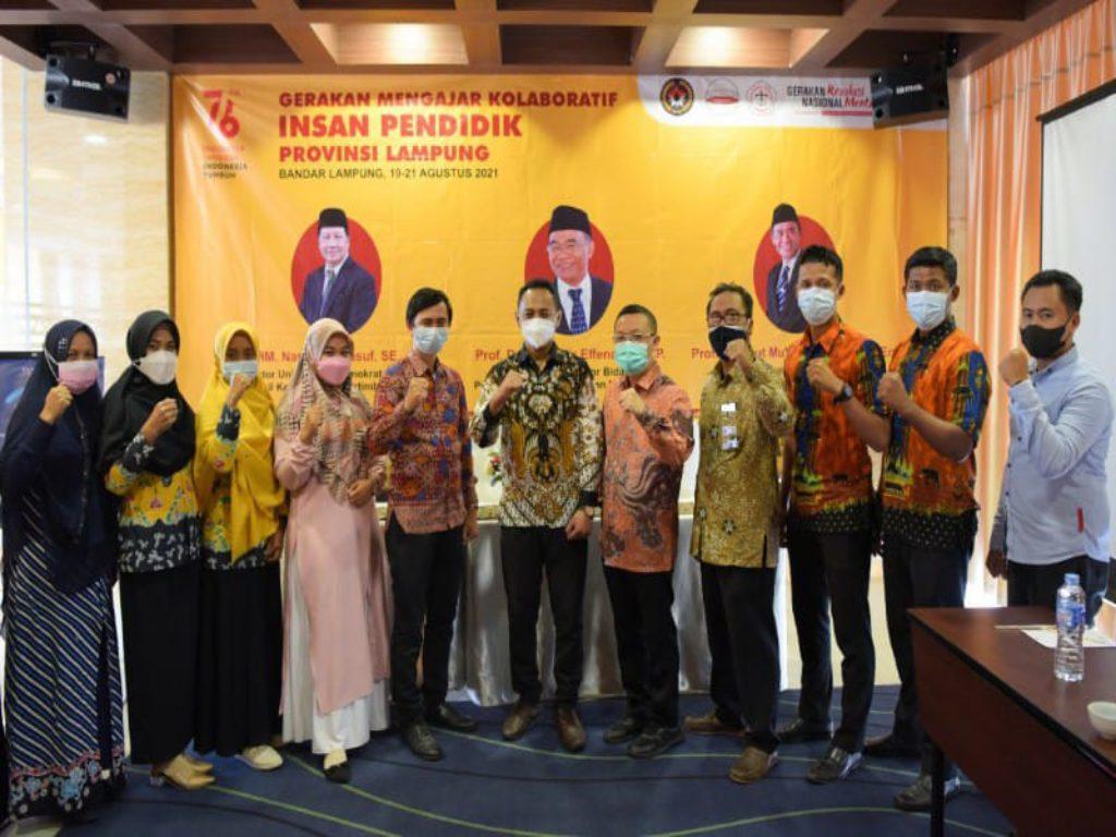 PTS Terbaik Sumatera Teknokrat Gelar FGD Guru Belajar Efektif, Rangkaian Gerakan Nasional Revolusi Mental