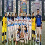 Tim Futsal Putri PTS Terbaik Sumatera Teknokrat Juara Futsal Women Championship 2021