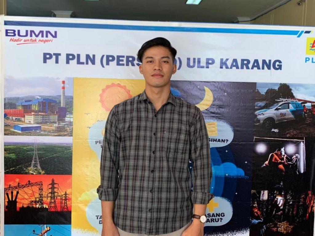 IPK Tinggi dan Pengalaman Antar Billy Kristiadi Putra Mahasiswa Berprestasi PTS Terbaik Sumatera Teknokrat Berarier di PLN