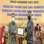 Danbrigif 4 Marinir/BS Ajak Mahasiswa Baru Universitas Teknokrat Indonesia Bela Negara