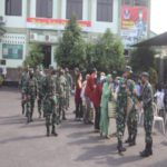 Dandim 0410/KBL Pimpin Tradisi Korp Raport Dan Pelepasan Mahasiswa PKL Universitas Teknokrat Indonesia